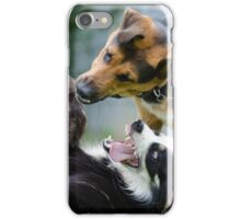 Dogs playing iPhone Case/Skin