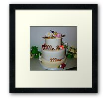 The Wedding Cake Framed Print