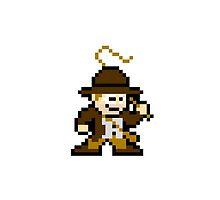 8bit Indiana Jones no text by miffed
