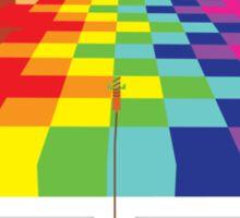 8 Bit Nintendo Rainbow Sticker