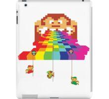 8 Bit Nintendo Rainbow iPad Case/Skin