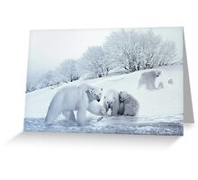 Winter Whimsy Greeting Card