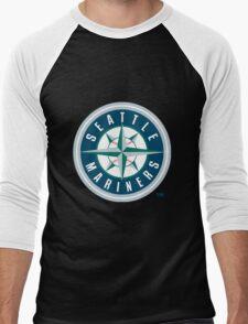 Seattle Mariners Men's Baseball ¾ T-Shirt