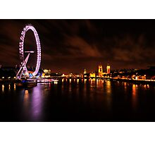 WESTMINSTER EYE Photographic Print