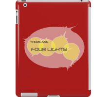 There... Are... Four... Lights! iPad Case/Skin