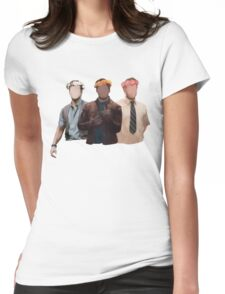 chris pratt flower crown Womens Fitted T-Shirt