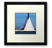 Tent Framed Print