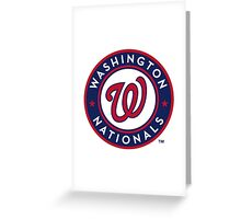 Washington Nationals Greeting Card