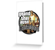 GTA SA Greeting Card