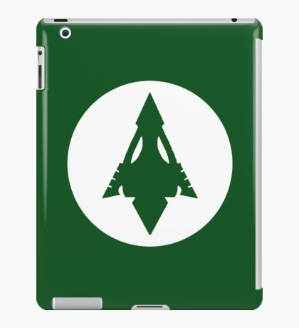 Arrow, Lantern, Whatever's Green iPad Case/Skin