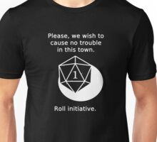 D20 Critical failure - Persuasion Unisex T-Shirt