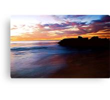 RAINBOW OCEAN Canvas Print