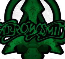Arrowsmith Green Logo Sticker