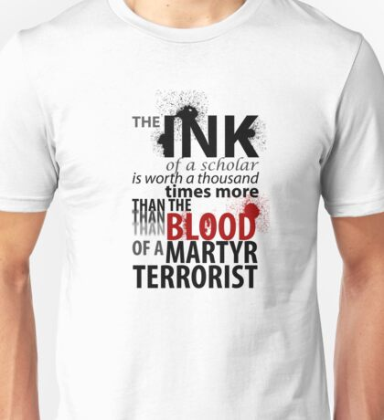 Inky Martyr Unisex T-Shirt