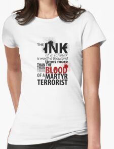 Inky Martyr Womens Fitted T-Shirt