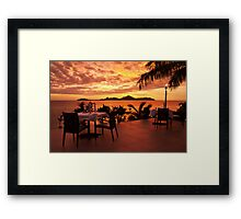 Meet you at 7 Framed Print