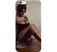 Mademoiselle Cherie by Mary Bassett iPhone Case/Skin