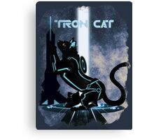 Tron Cat Canvas Print