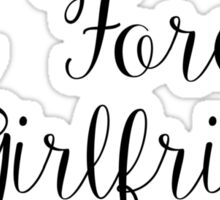 Air Force Girlfriend Sticker