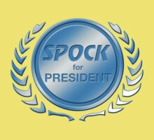 Spock for President Kids Clothes