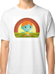 little cute meditating buddha  Classic T-Shirt