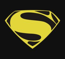 Superman logo yellow by Basviv