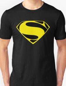 Superman logo yellow T-Shirt