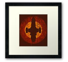 Serenity Eclipse Framed Print