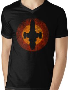 Serenity Eclipse Mens V-Neck T-Shirt