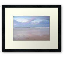 Tranquil Dusk Sky Framed Print