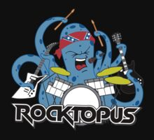 Rocktopus - Rocking Octopus by DetourShirts