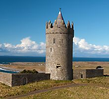Panoramic Doolin Castle, County Clare, Ireland by upthebanner
