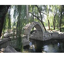 The Ruins of the Imperial Gardens of Beijing Photographic Print