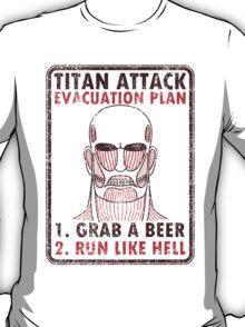 Titan plan T-Shirt
