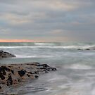 Trebarwith Abstract Wave by Swell Photography