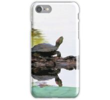 Lazy Day Turtle iPhone Case/Skin