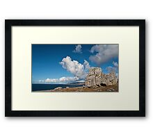 The Burren In Fanore, County Clare, Ireland Framed Print