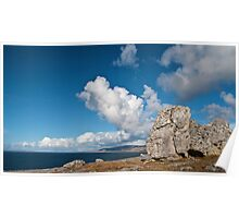 The Burren In Fanore, County Clare, Ireland Poster