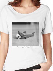 Shaaark! (Handwritten) Women's Relaxed Fit T-Shirt