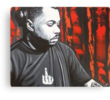 Derrick Carter Canvas Print