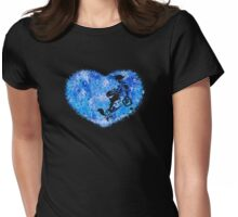 The Door To Light Womens Fitted T-Shirt