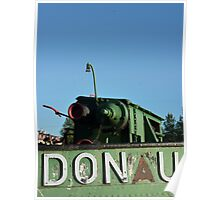 Riverboat in Donau-river (danube) Poster