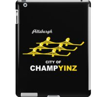 City of champyinz geek funny nerd iPad Case/Skin
