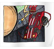 Rocket League Art Poster