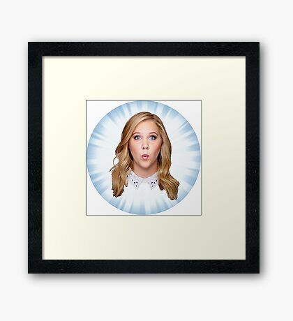 Comedian Amy Schumer Framed Print