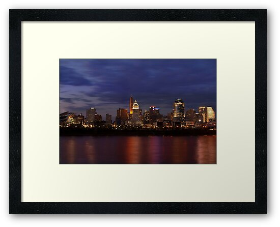 Sky Line Cincinnati by Phil Campus
