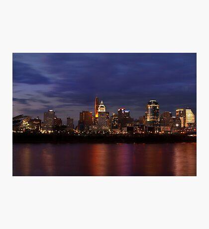 Sky Line Cincinnati Photographic Print