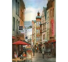 Street in Koblenz Photographic Print