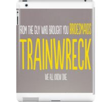 Trainwreck with Amy Schumer iPad Case/Skin