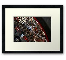 Custom Harley Framed Print